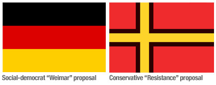 Countries changing flags Germany