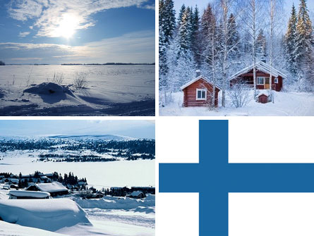Finland nation brand colors